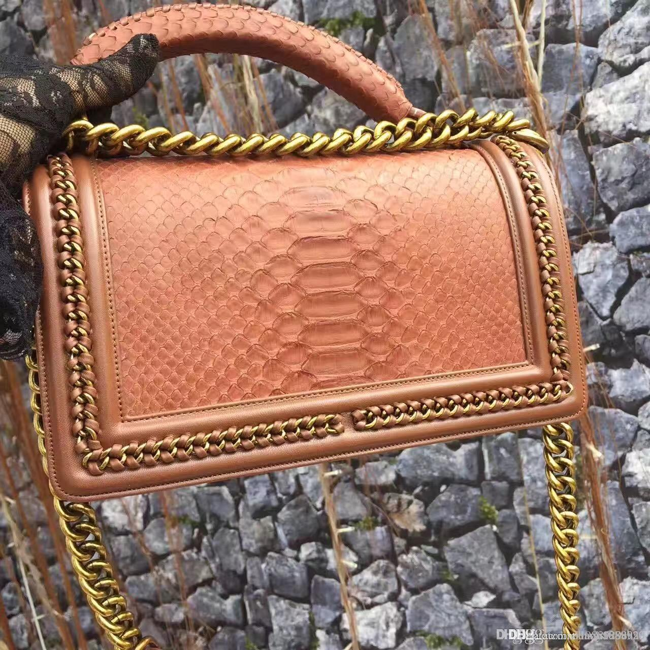 top quality women real python skin handbag, size 25 size 20cm ,original quallity, luxury shoulder bag with DHL and ems free shipping