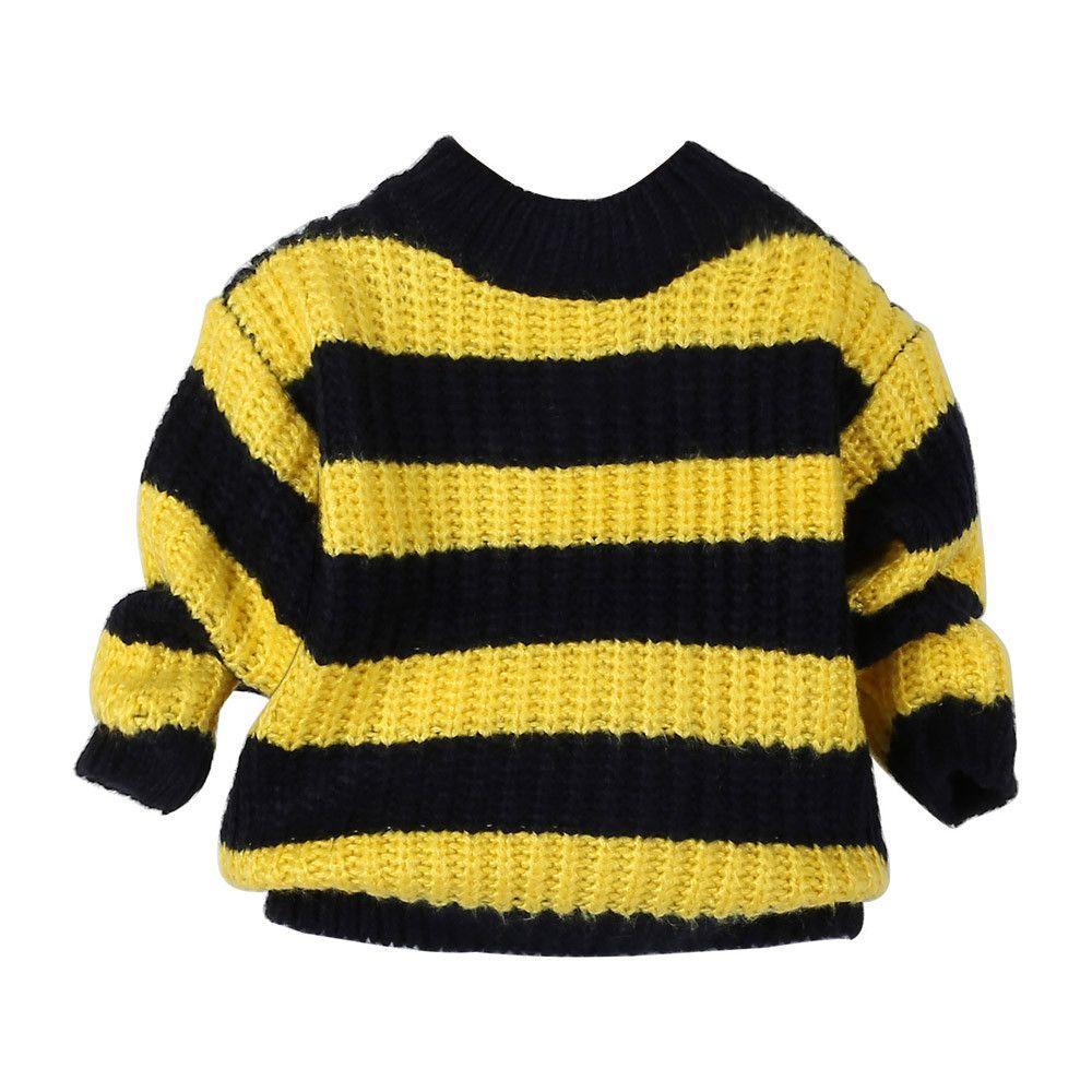 New Children Sweaters New Winter Stripe Baby Boys Girls Pullovers ...