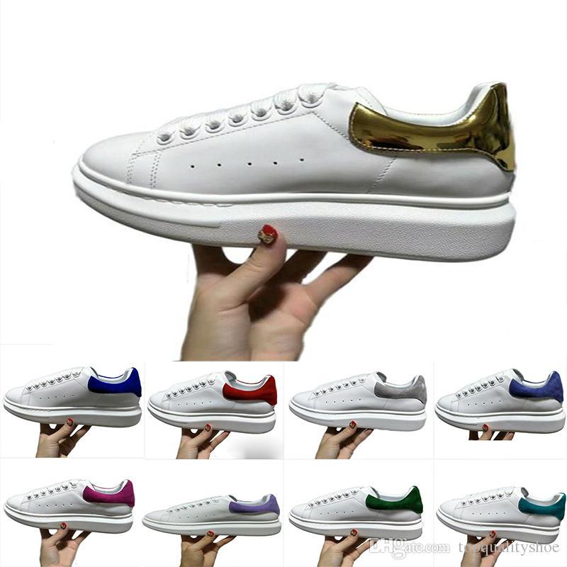 new arrival d9296 8fa38 Scarpe Da Calcio Personalizzate MQueen Scarpe Da Corsa Stan Smith Uomo Donna  Luxury Designers Queen Scarpe Da Ginnastica Sneakers Taglia 35 43 Scarpe Da  ...
