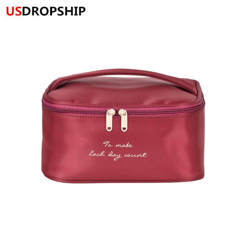 bd3ddb85d8 USDROPSHIP Hot Travel Cosmetic Bag Multifunction Women Toiletries ...