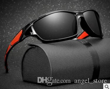 0432bd7fd9b4 Polarized Sunglasses Men Women Sport Fishing Driving Sun Glasses UV400  Brand Designer Camouflage Frame 1019 Wholesale Sunglasses Cool Sunglasses  From ...