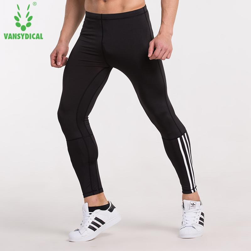 f638161452 2019 Mens Compression Pants Running Run Jogging Jogger Fitness Exercise  Bodybuilding Gym Athletic Compression Tights Long Pants From Lahong, $23.7  | DHgate.