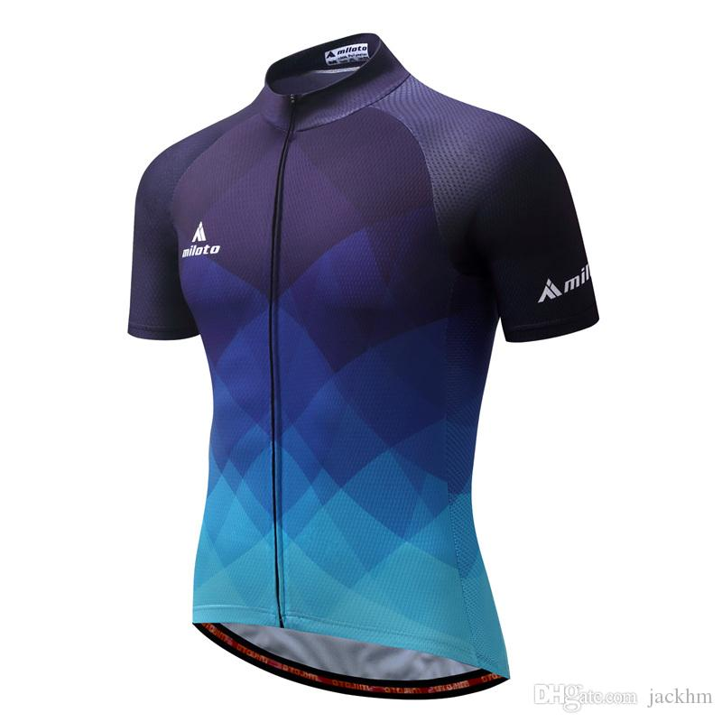 Hot Sale MILOTO Bike Team Pro Cycling Jersey Ropa Ciclismo 2018 Mtb Bicycle  Cycling Clothing Summer Bike Jersey Shirt Maillot Ciclismo Cycling Shirts    Tops ... 4c711bd29