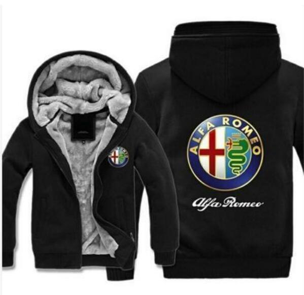 Compre Logotipo Alfa Romeo Imprimir Zíper Hoodies Dos Homens Casuais De  Manga Longa Mens Zipper Moletom Com Capuz Moletons Mulheres Roupas Casaco  Com Capuz ... da38f6beb7948