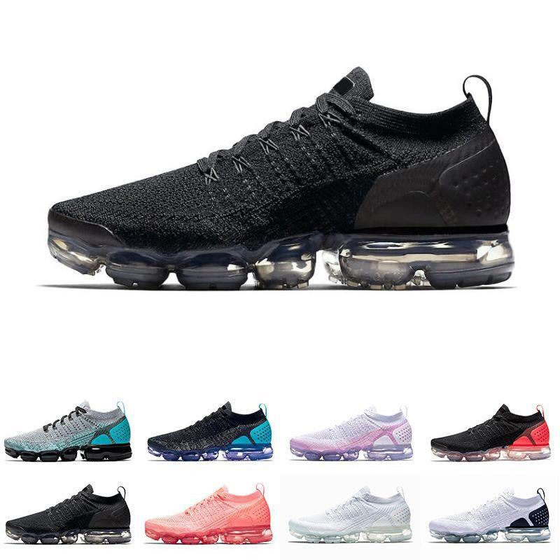 newest 3dea0 caec2 Compre Nike Air Vpormax Flyknit 2018 VENTA CALIENTE 2018 Nuevo 2019 Fly 2.0  II Hombres Zapatos De Diseño Hombres Corriendo Entrenadores 2 Mujeres  Zapatillas ...