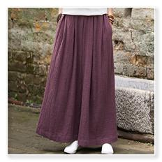 Solid Elastic waist Linen cotton White Women Pants Loose Casual Summer Harem Pants Women Brand Design Full length Trousers C044