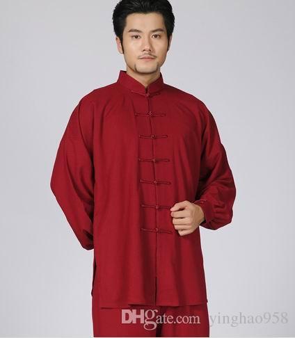 Новый утолщенные хлопка и льна тайцзицюань боевых искусств утренние упражнения тай-чи практика одежда