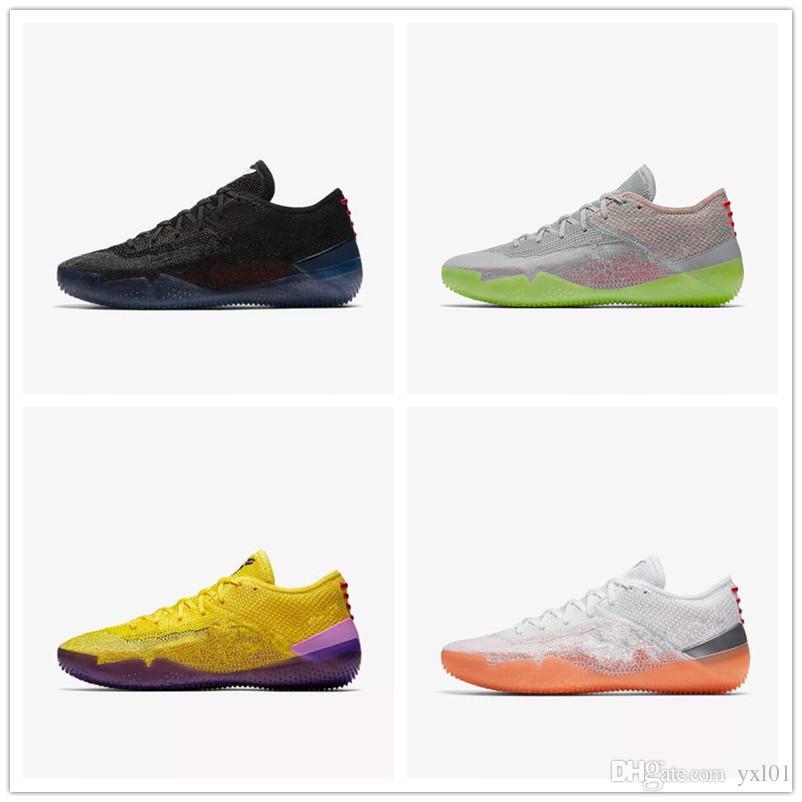 competitive price 12956 8a768 Großhandel 2018 Neue Kobe A. D. NXT 360 Gelb Streik Mamba Tag Multicolor  Mens Basketball Schuhe Für Top Qualität 12 Wolf Sport Turnschuhe Size40 46  Von ...