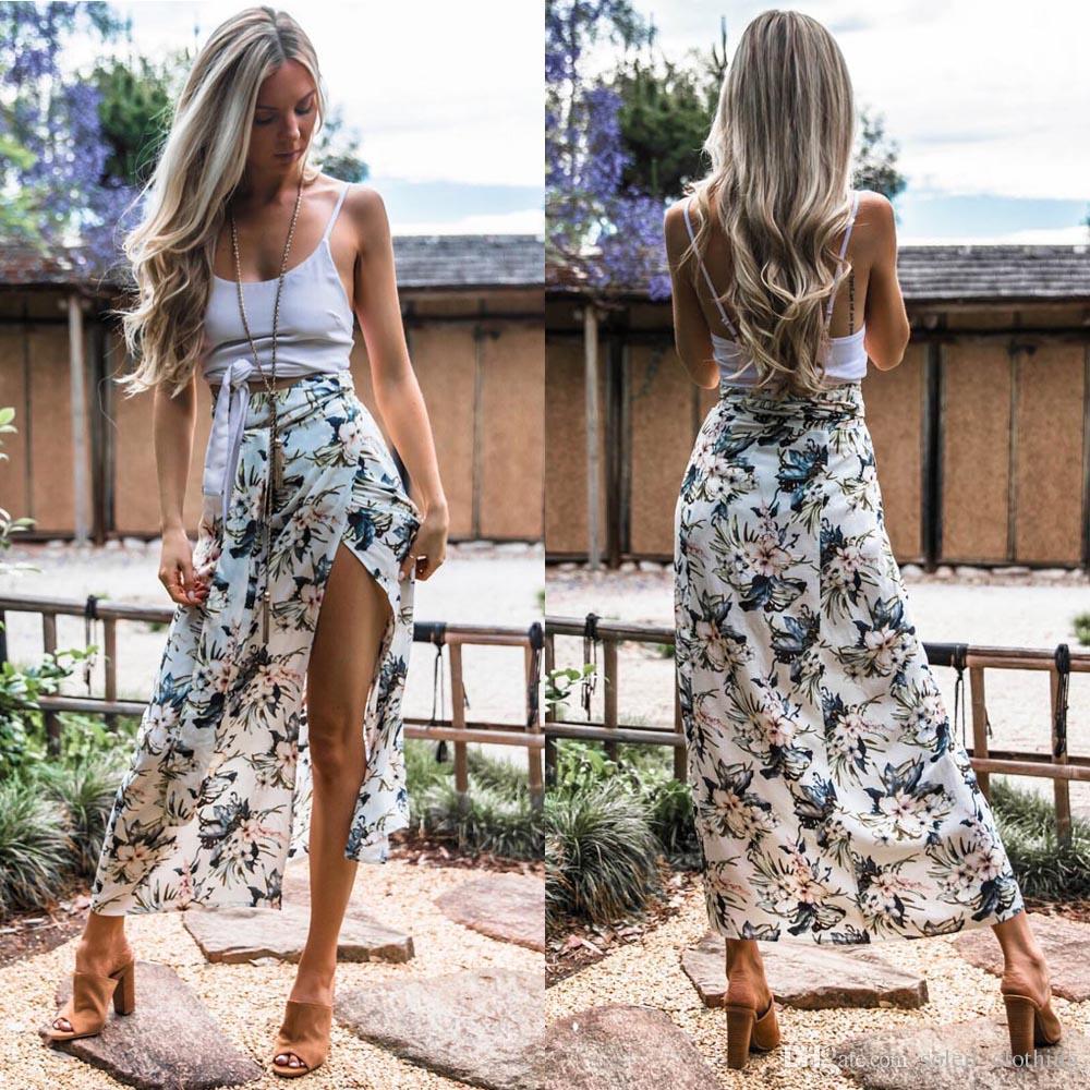 ffdb10de8b Compre Impresión Atractiva Con Falda Flejado Especial S M L Xl Cuatro  Tamaños Se Puede Elegir Vestidos De Mujer Envío Gratis A  19.1 Del  Soleil clothing ...