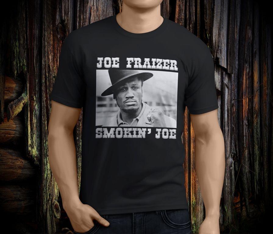 b39a1b5bc6f1 Compre New Cool Joe FRAZIER Smokin Joe Lenda Boxe Preto Dos Homens T Shirt  Tamanho S 3XL De Mycarperformance, $11.01 | Pt.Dhgate.Com