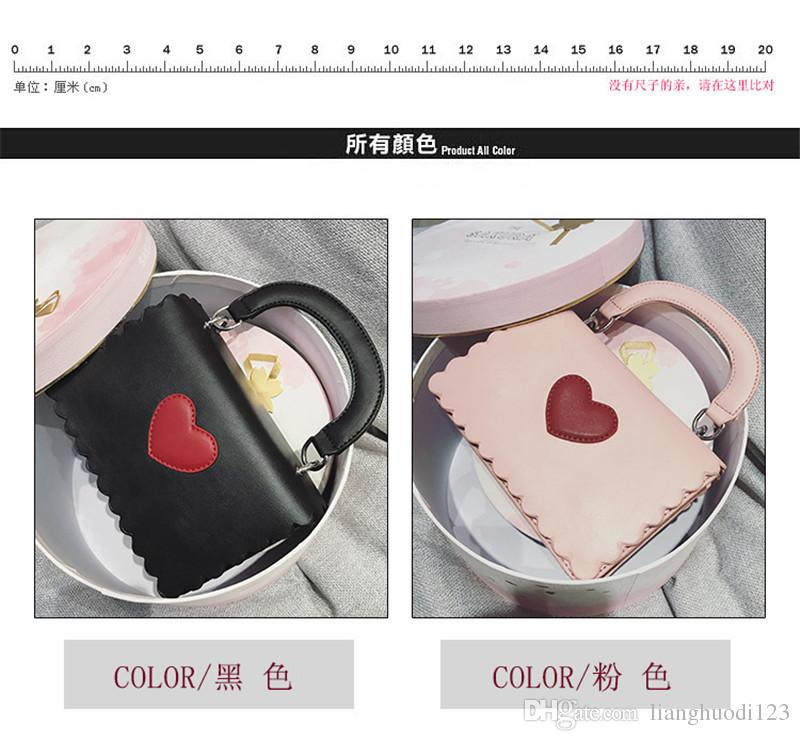 76b5284b9797 026 2018 Japan And South Korea Handbag with Simple And Easy Heart And One  Shoulder Bag for Women Shoulder Bag Handbag Flap Online with  59.89 Piece  on ...