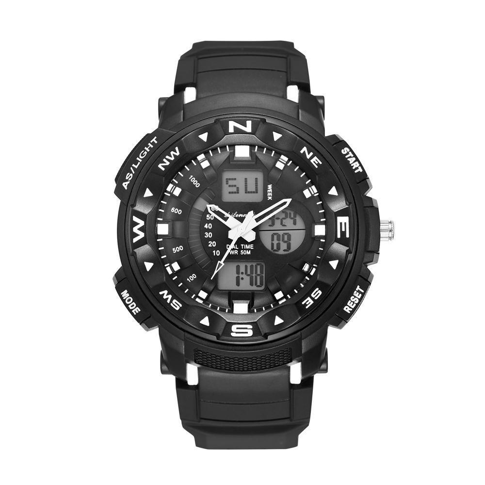 6d490bc3da0 Compre Melhor Relógio De Presente Dos Homens De Quartzo Digital Relógios À  Prova D  Água Montanhismo Viagem Esporte Ao Ar Livre Relógios Eletrônicos  De ...