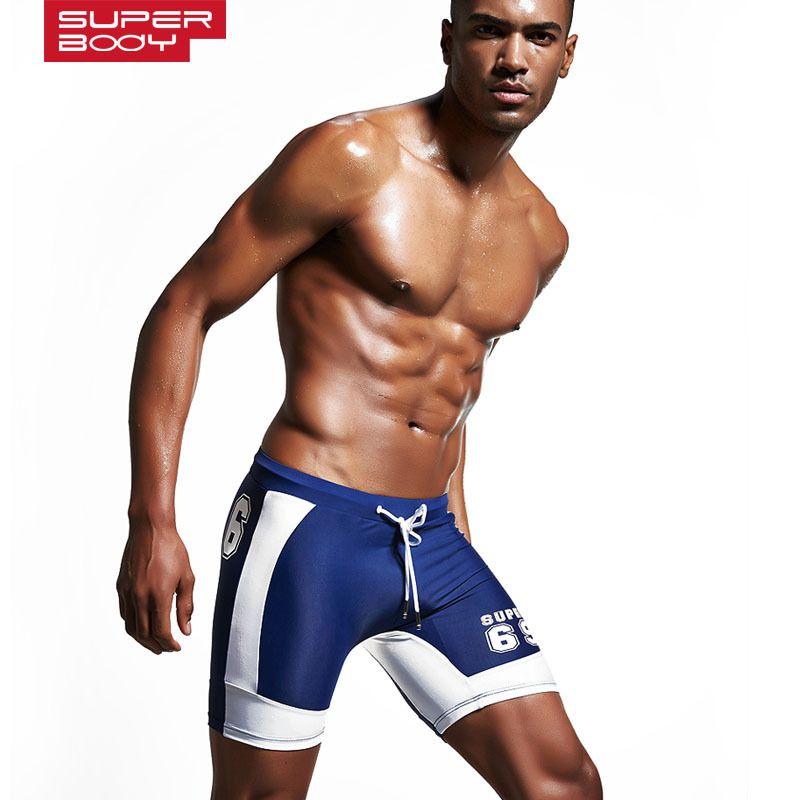 84b64bae5e 2018 Man Swimsuit Hot Summer men's Swimming Trunks Cool Guy Beach Swimwear  Boxers Swim Wearing Suit Sports Shorts Bathing