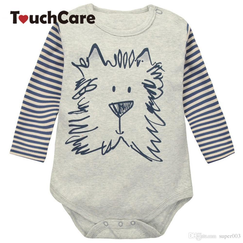47b4ff4646e 2019 Cartoon Giraffe Zebra Long Sleeve Baby Romper Baby Girl One Pieces  Cute Clothes Jumpsuits Roupas De Bebe Infantil Baby Clothing From Super003