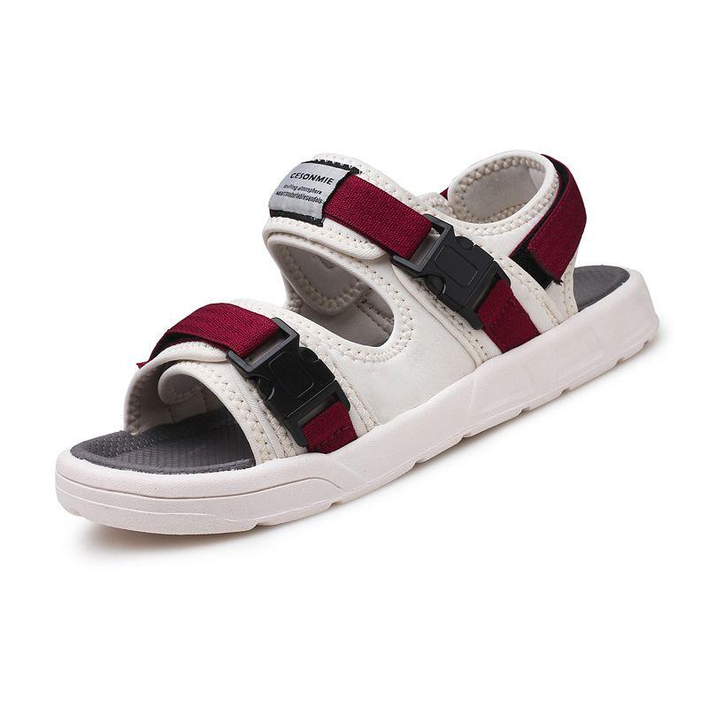 b694bac97 Men s Fashion Korean Casual Sandals Tide Men 2018 Summer New Comfortable  Breathable Sandals Students Dual-use Shoes Men s Sandals Cheap Men s  Sandals Men s ...