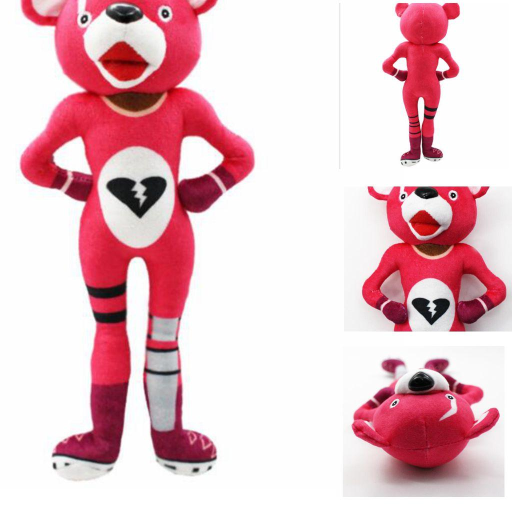 2019 30cm Game Fortnite Plush Toy Fortnite Pink Bear Stuffed Toy