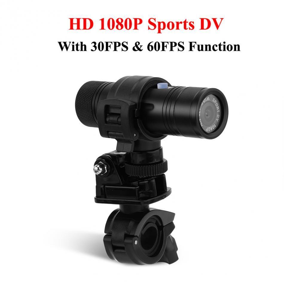 Freeshipping Registratore impermeabile 8MP 1080P 170 gradi obiettivo HD Sport all'aria aperta DV fotocamera digitale video immersioni DV moto moto Camcorder
