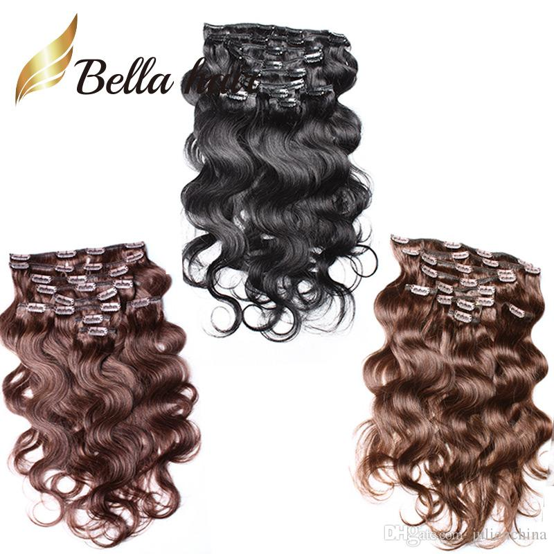 Great Quality Hotsale Clip In Hair Extension Brazilian Hair Bella