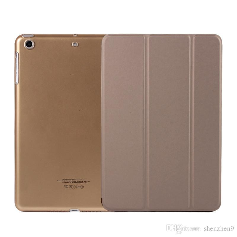 Custodia pieghevole pieghevole magnetica + Custodia posteriore opaca iPad Air 2 3 4 5 6 Custodia pieghevole Retina iPad mini 2 iPad con auto riposante SCA406