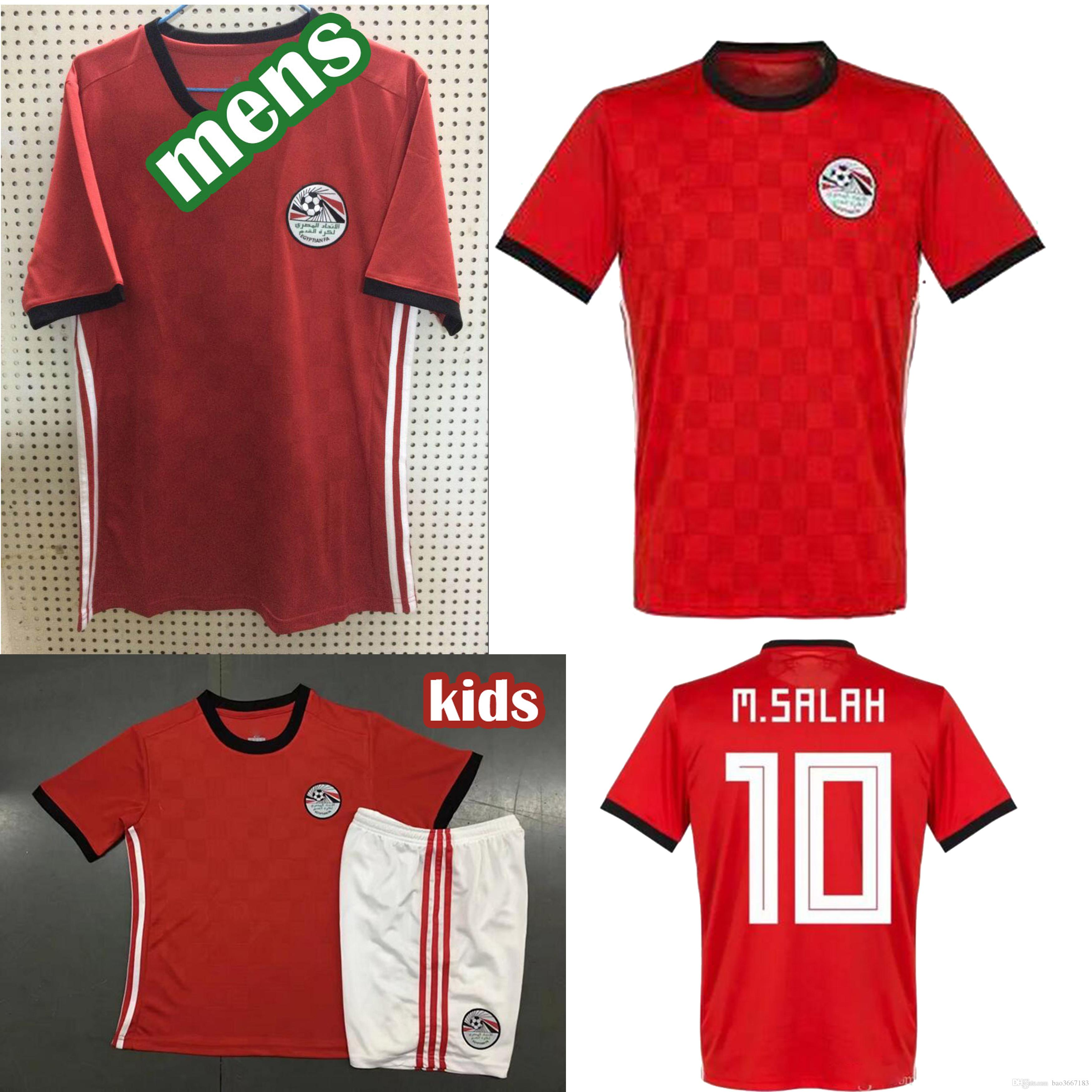20cccd610 Egypt Soccer Jersey World Cup