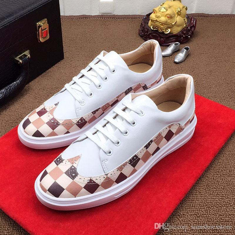 authentic sale online outlet pick a best Top Quality Ace Embroidered White Black Silver Shoes Gift Genuine Leather Designer Sneaker Luxury Brand Mens Women Casual Shoes H8JD8cOCfF