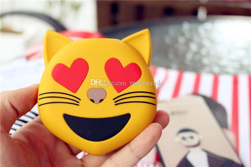 Cartoon Power Bank facial expressions mobile power portable gifts rechargeable for Samsung Galaxy i9300 Note2 N7100 iphone 5 5S 5C 4 4s
