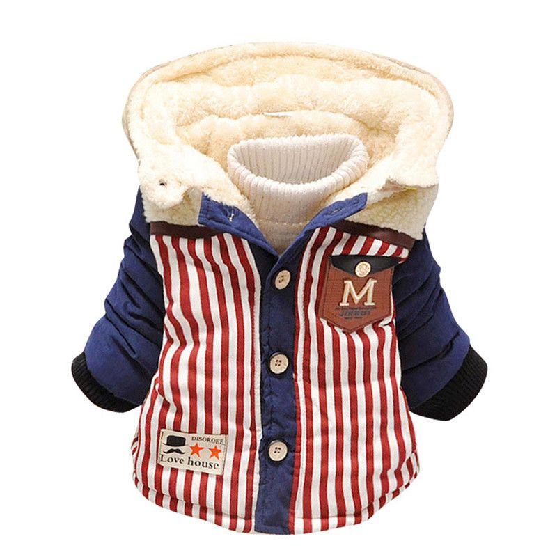 19db6ff5b 258 High Quality 0 4 Years Winter Boy Jacket Thicken Woolen Warm ...