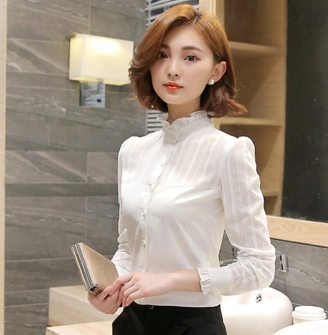 100Algodón Nuevo Mujeres Blancas Camisas Con Mangas Blusa Compre rBQtsdxCh