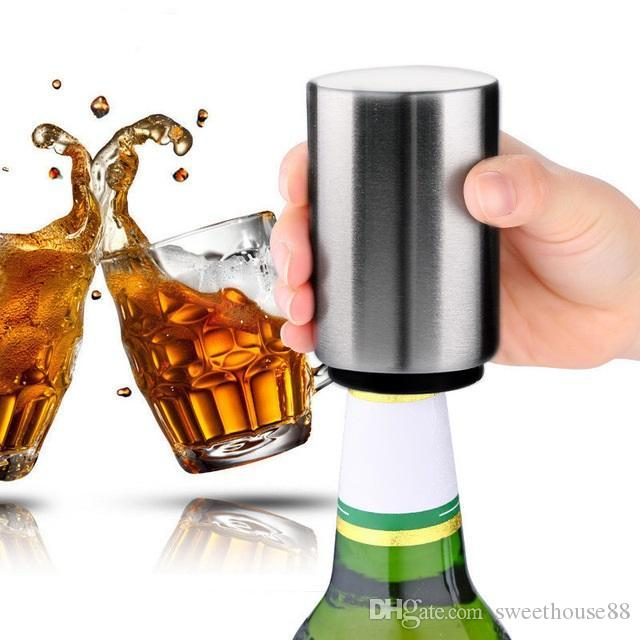 Factory Stainless Steel Beer Soda Bottle Cap Opener Credit Card Size Bar Tool Cn Bottle Openers