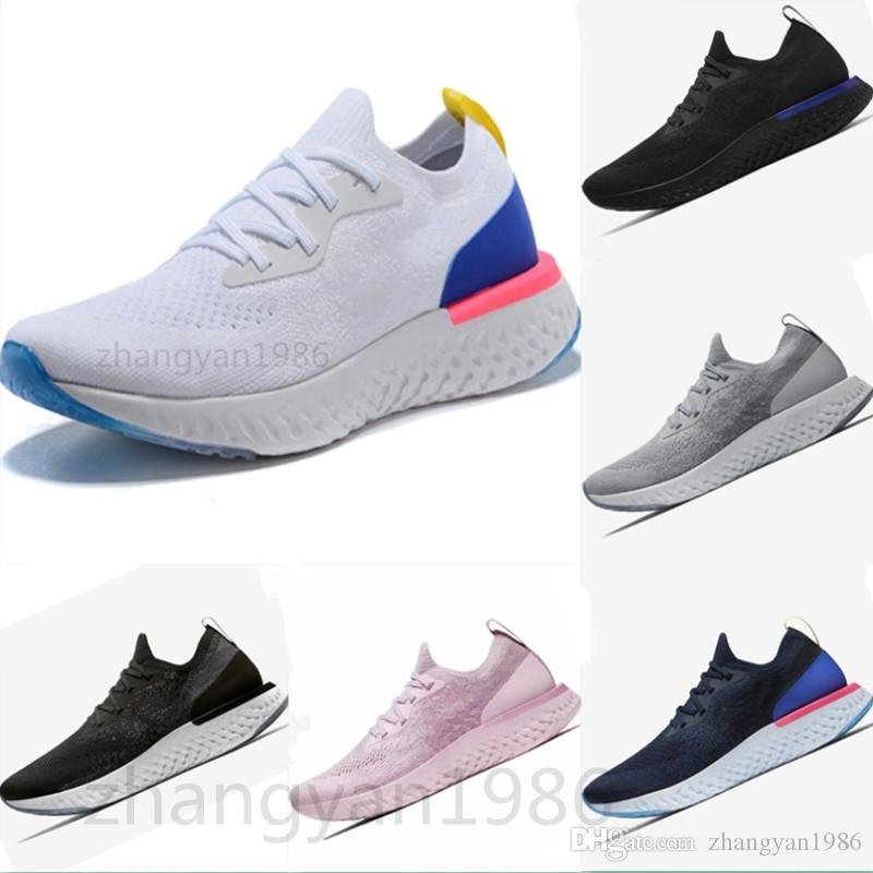 best website b3a2a 2d667 Acquista Nike Flyknit Epic React Epic React AQ0067 Scarpe Casual Da Uomo  Donna Sneakers Sportive Scarpe Da Ginnastica Scarpa Da Tennis Da Donna  Sneaker ...
