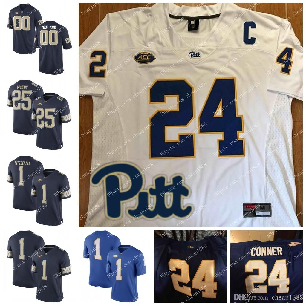 lowest price a04e5 e7776 NCAA Pittsburgh Panthers Pitt #25 Darrelle Revis 28 Dion Lewis 29 Curtis  Martin 33 Tony Dorsett Stitched College Football Jersey