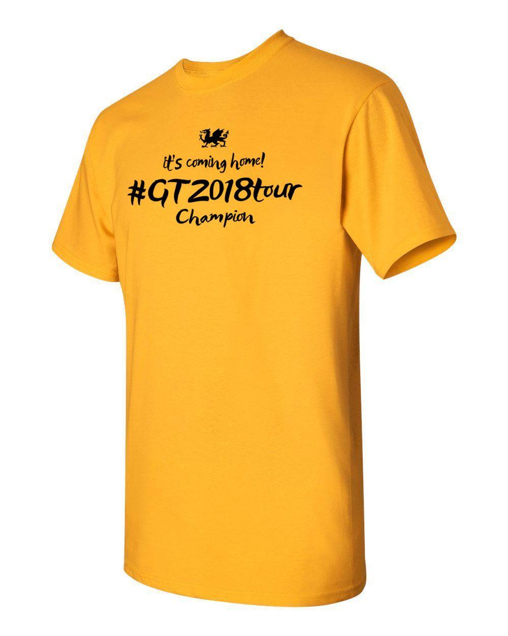 Gt It S Coming Home Champion 2018 T Shirt Cycing Tour De France