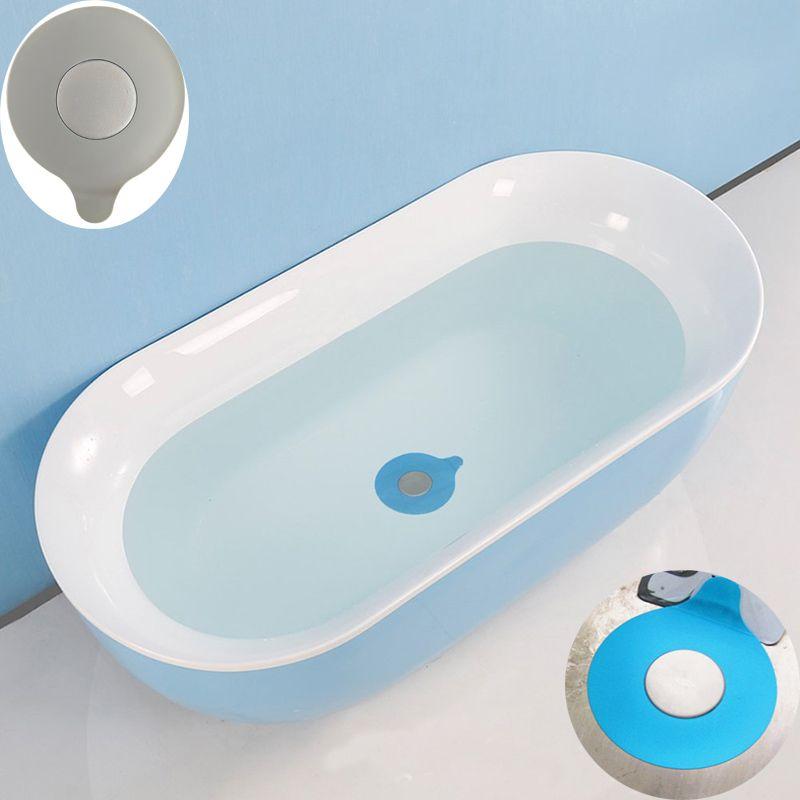Silicone Waterproof Bathtub Plug Universal Silicone Stopper 13cm ...