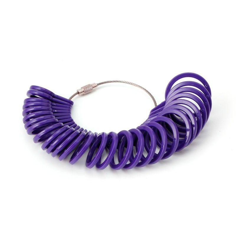 Ring Size Mandrel Stick Finger Gauge Ring Sizer Measuring Jewelry Tool