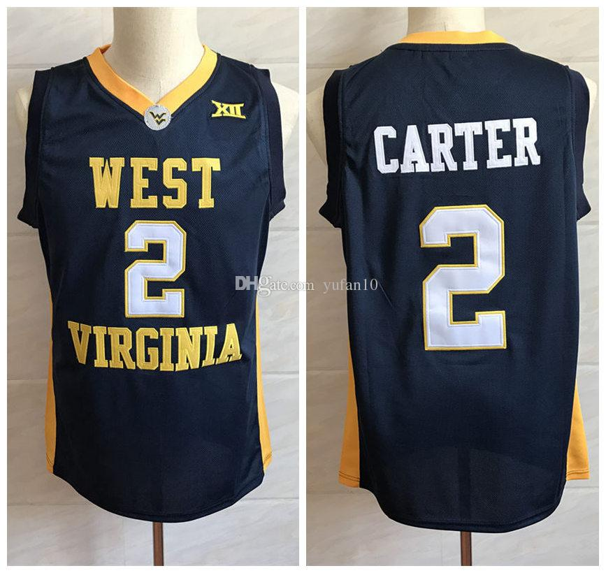 01405c1c1 2019  2 Jevon Carter West Virginia College Retro Classic Basketball Jersey  Mens Embroidery Stitched Custom Any Number And Name Jerseys From Yufan10