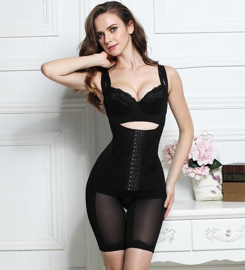 dabdad925c7 2019 Slimming Underwear Bodysuit Women Lingerie Waist Trainer Body Shaper  Corrective Underwear Magnet Shapewear Loss Weight Corset From  Hopeforth2018