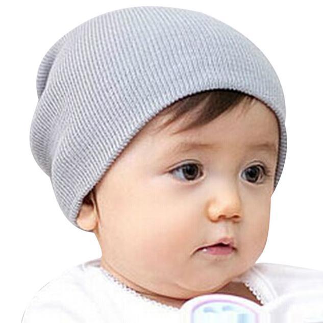 2f79f985c1d 2019 Winter Spring Baby Beanie Boy Girls Soft Hat Children Winter Warm Kids  Knitted Cotton Beanie Hat For Toddler Baby Girl Boy Caps From Ferdimand