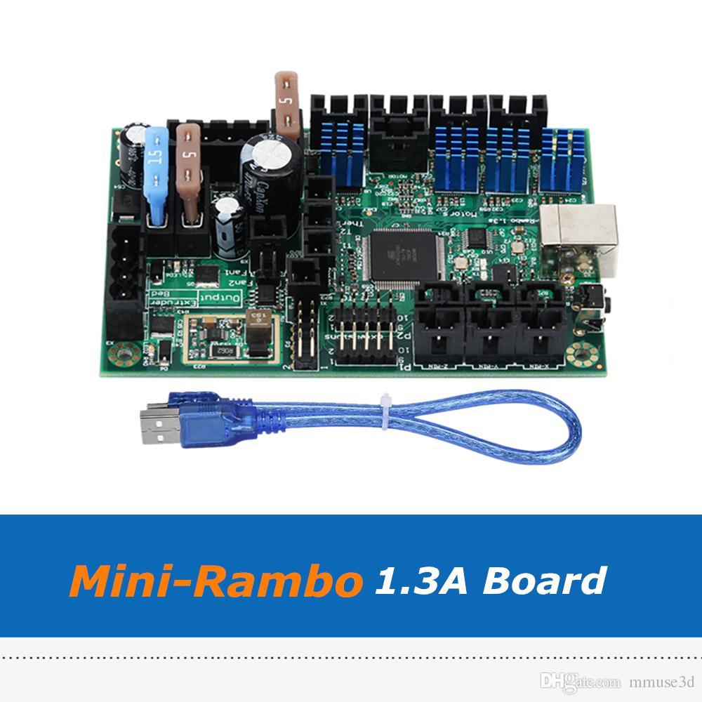 3D Printer Parts Board New Reprap Mini-Rambo 1 3A Mainboard For Prusa i3  MK2 3d printer