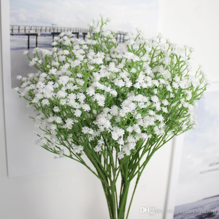 2018 value fake bouquet babys breath gypsophila silk flower party 2018 value fake bouquet babys breath gypsophila silk flower party wedding home decor head white artificial flowers gypsophila floral from prodecoration mightylinksfo
