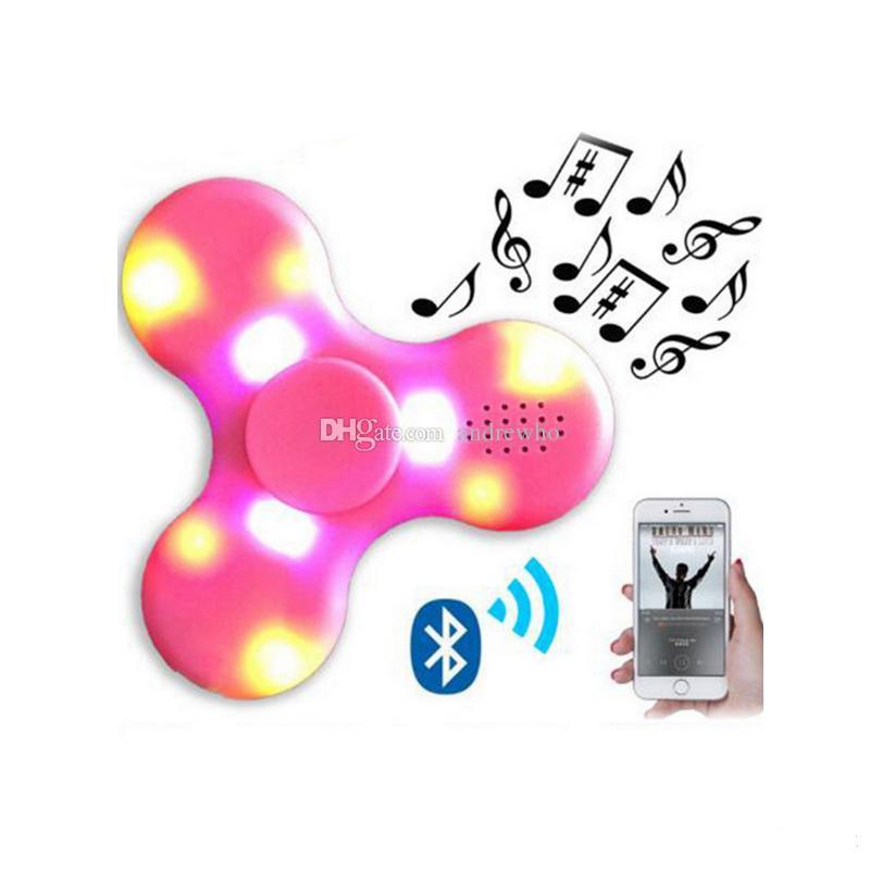 EMS / دي إتش إل الحرة الملونة ضوء الململة بلوتوث المغازل الململة الدوار مع نوعية جيدة Bluetooth4.0 اللغة لميني رئيس بلوتوث