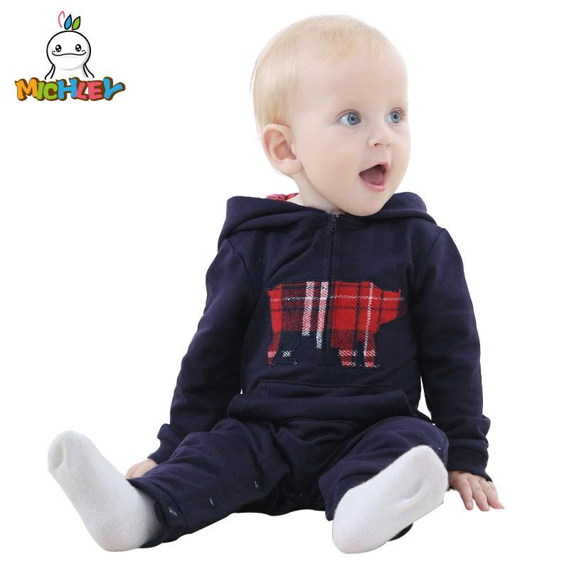 61637e01737f MICHLEY Baby Romper 2018 Fashion Newborn Jumpsuit Clothes Ropa De ...