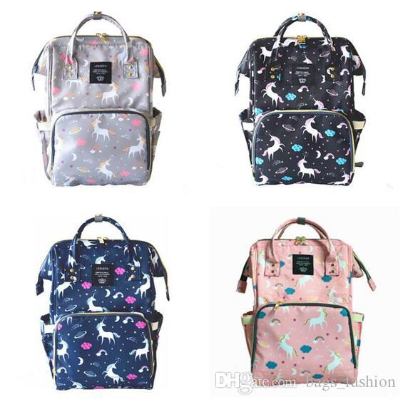 Diaper Bag Unicorn Multi-Function Waterproof Travel Backpack Nappy ... 3fbb3b3132822