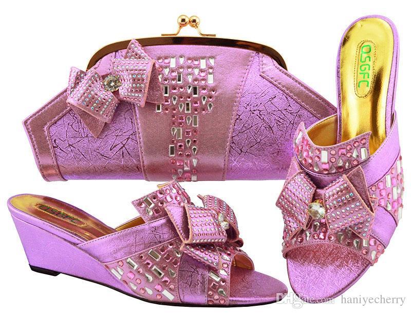 843cf535fa5 Compre Tamanho 38 A 43 Venda Quente Sapato E Bolsa Para Combinar Com As  Mulheres De Salto Alto E Saco De Embreagens Novos Sapatos E Bolsa  Combinando ...