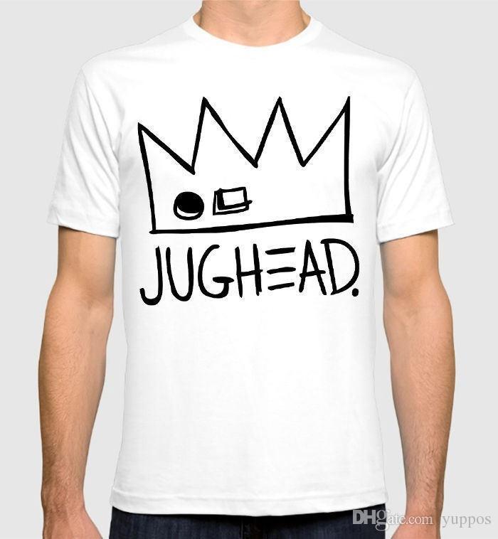 6ae36ce785f Summer Style Fashion Riverdale Jughead Jones T Shirt Men S Women S 100% Cotton  Tee Men S Shirts Men Clothes Novelty Cool Nerd T Shirts Design Shirt From  ...
