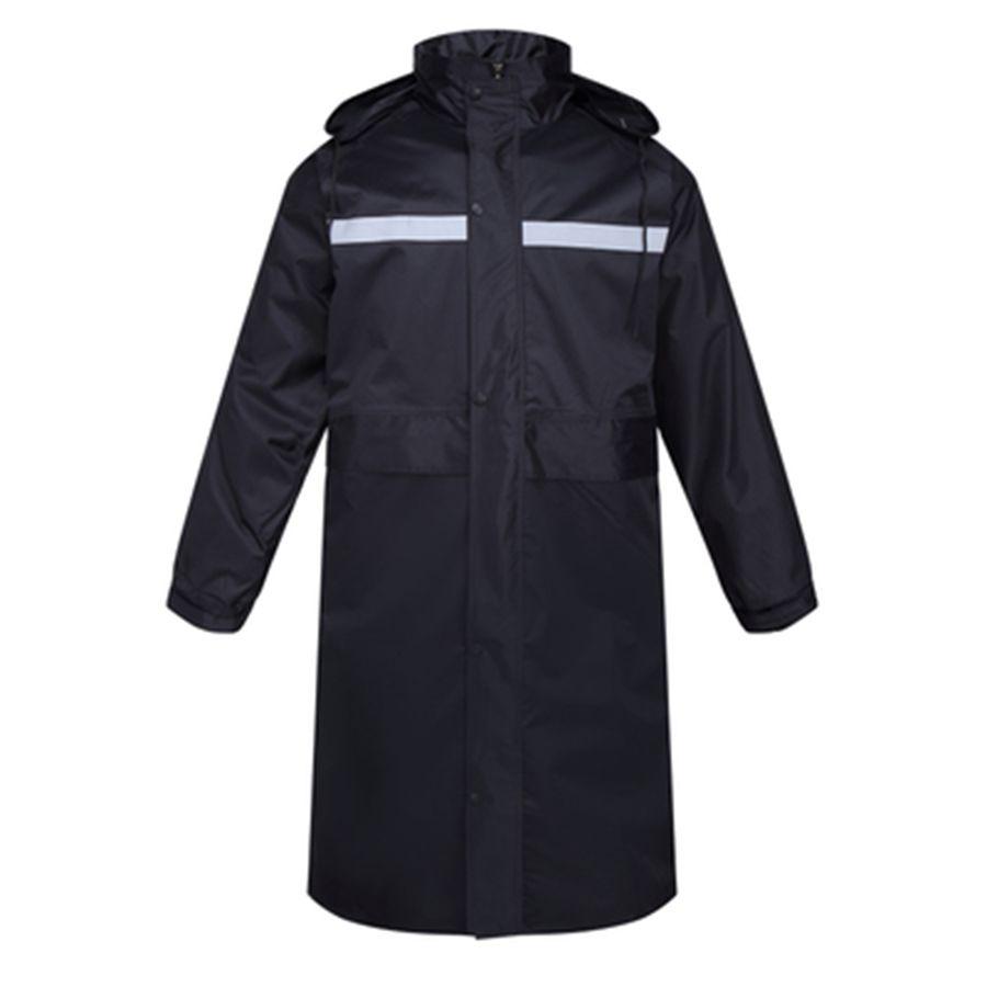 promo code 827ef 765ff Impermeabile con cappuccio Impermeabile da uomo Impermeabile lungo Cappotto  da pioggia per uomo Donna Salopette da pesca Chaqueta Mujer Impermeabile ...