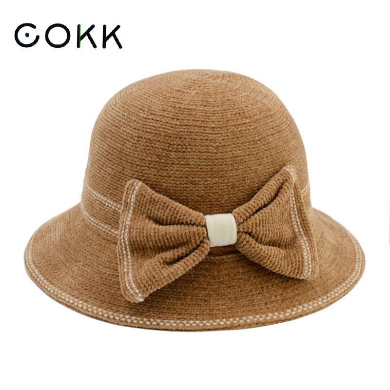 Compre cokk sombreros de fieltro para mujer sombrero de otoño jpg 800x800  Hat paño mujer sombreros ab0b35e328b1