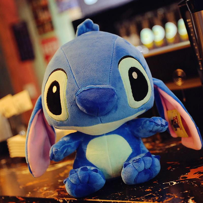 40cm Giant Stitch Plush Toys Stuffed Soft Pillow Toys Animals Baby Appease  Doll Birthday Girl Gifts For Kid Kawaii Cute Cushion UK 2019 From Cassial f032fd975