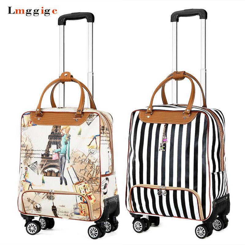 7288c8dc08 Women Rolling Luggage Bag