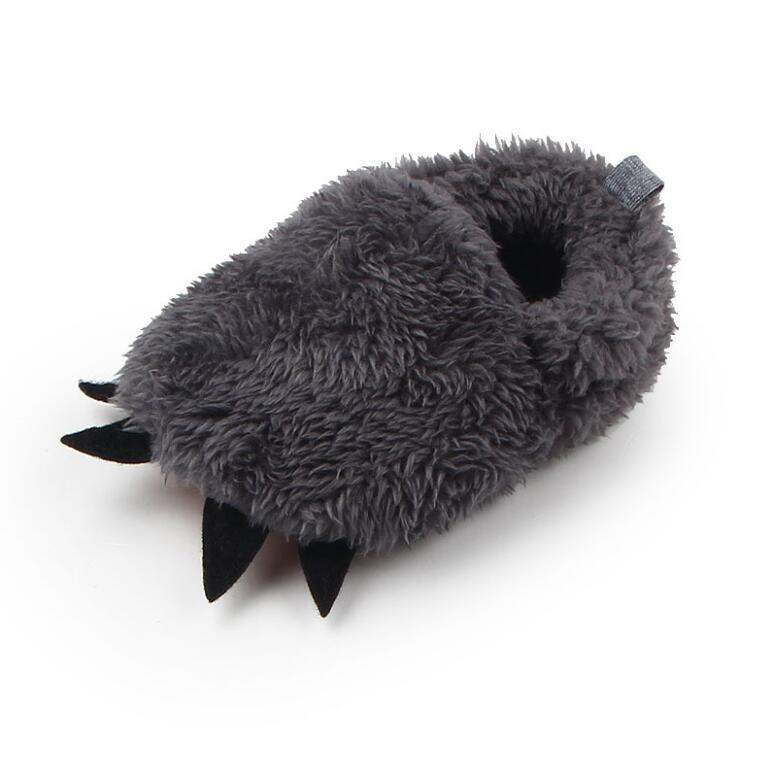 Warm winter fleece handmade baby shoes newborn infant girls first walkers non slip solid color