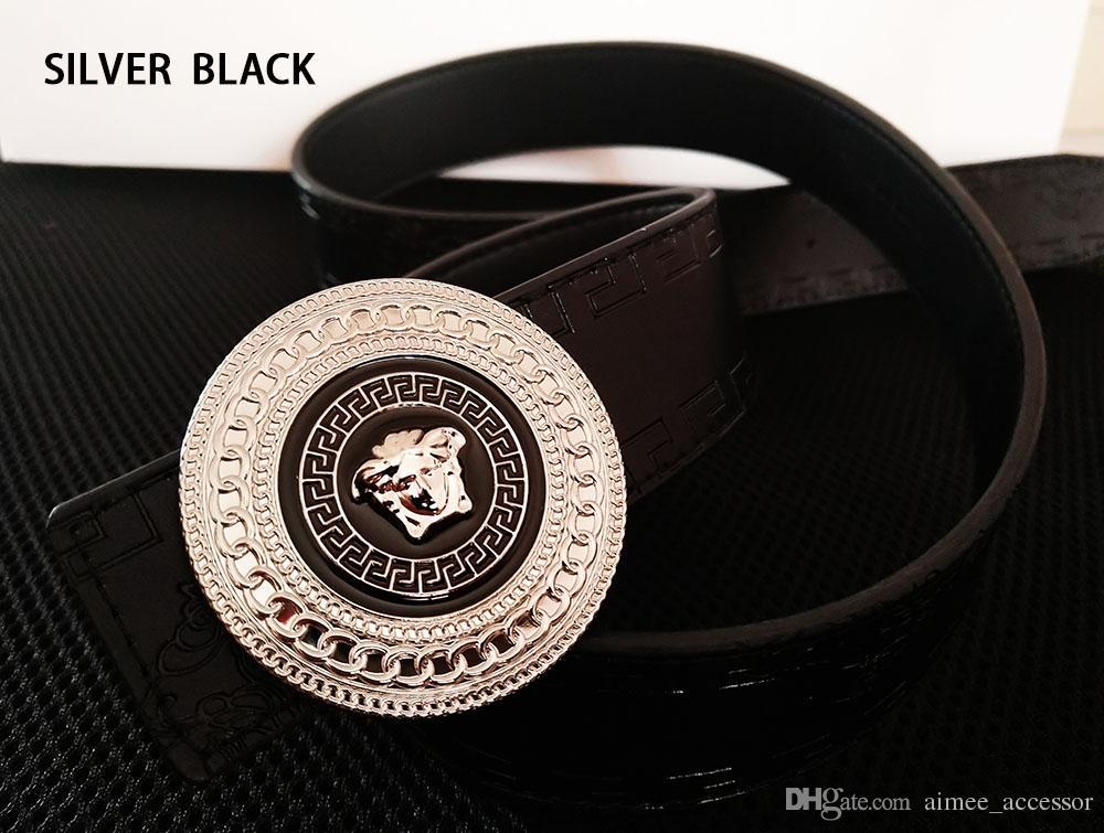 6bfb310b859 Brand Men Belt 2018 Fashion High QualityGenuine Leather Smooth ...
